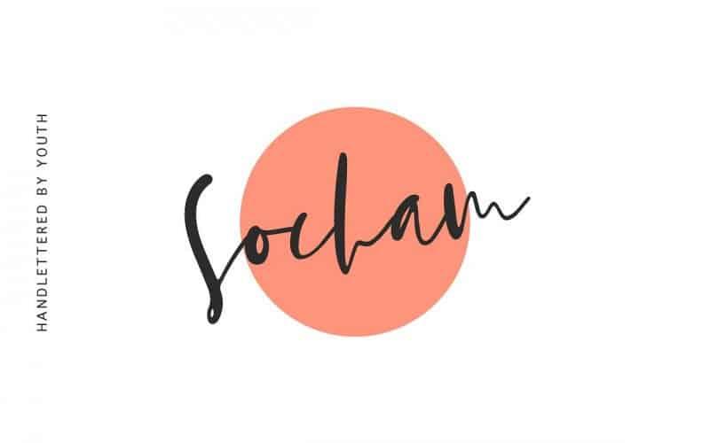 Socham шрифт скачать бесплатно