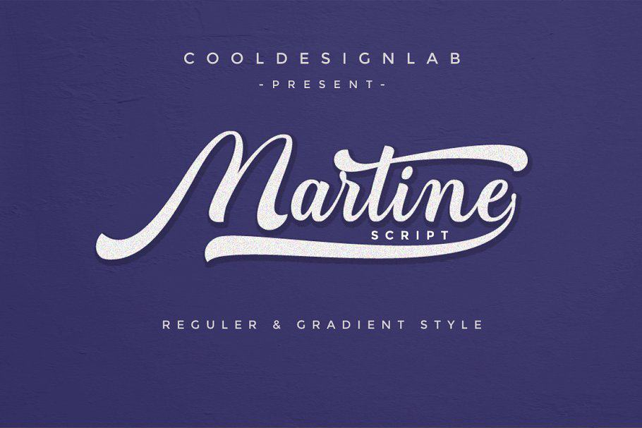 Martine шрифт скачать бесплатно