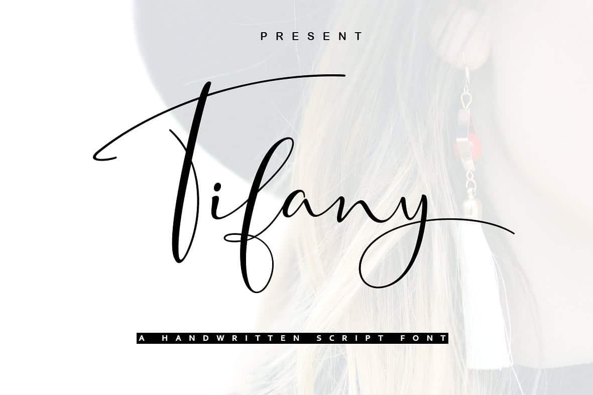 Tifany шрифт скачать бесплатно