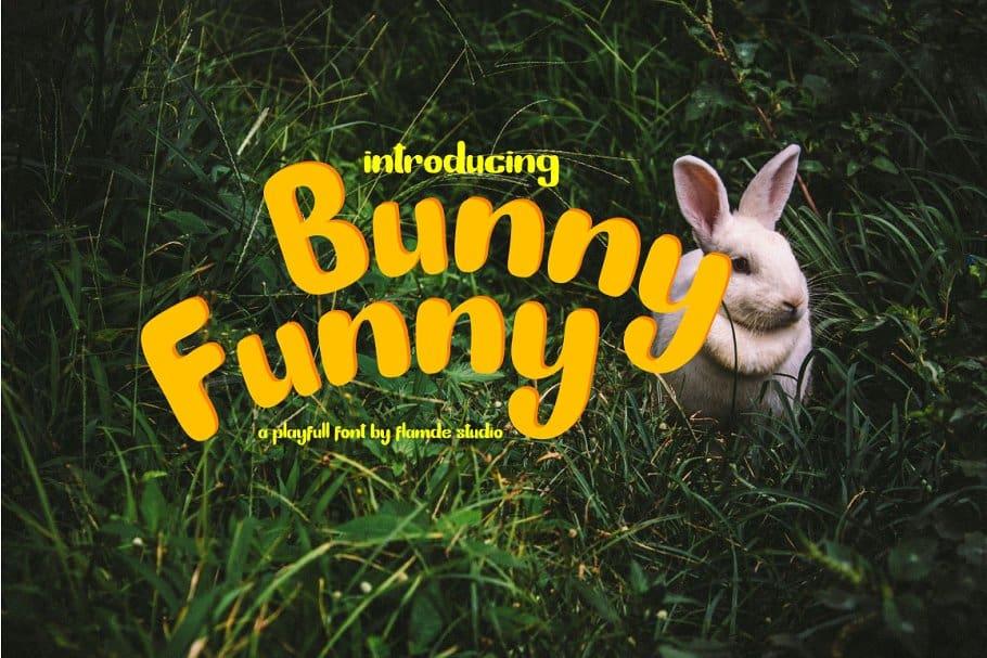 Bunny Funny шрифт скачать бесплатно