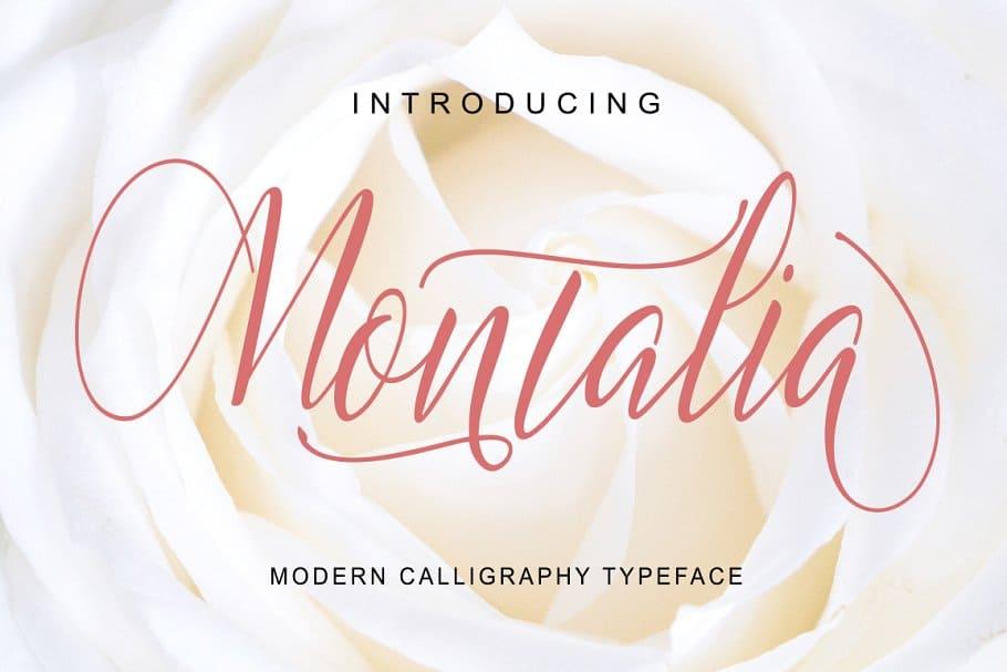 Montalia шрифт скачать бесплатно