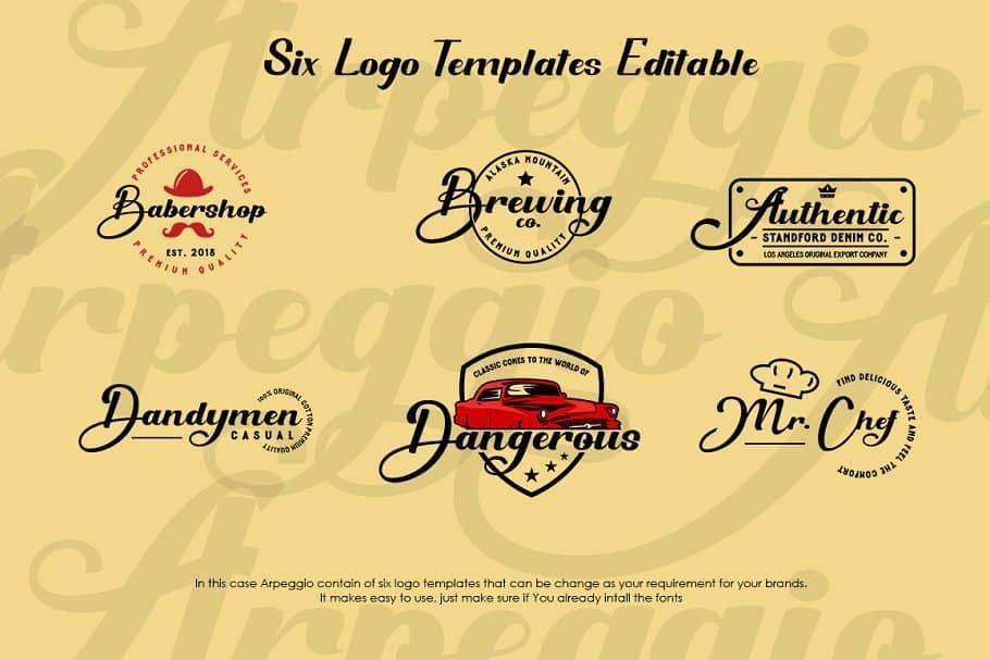 Arpeggio шрифт скачать бесплатно
