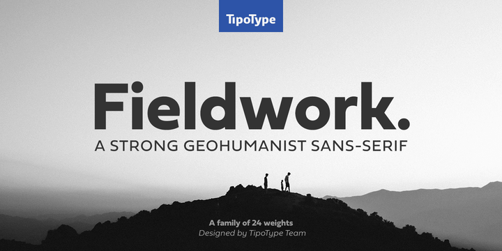 Fieldwork шрифт скачать бесплатно