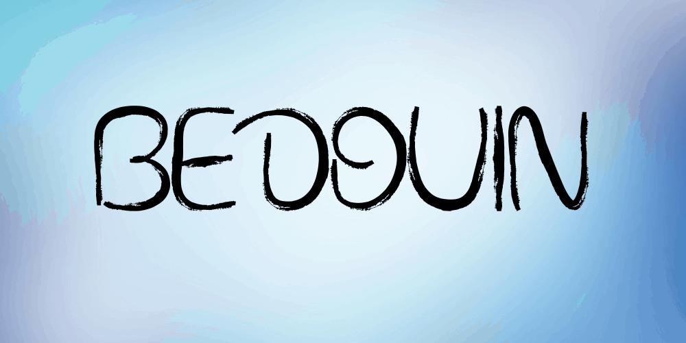 Bedouin шрифт скачать бесплатно