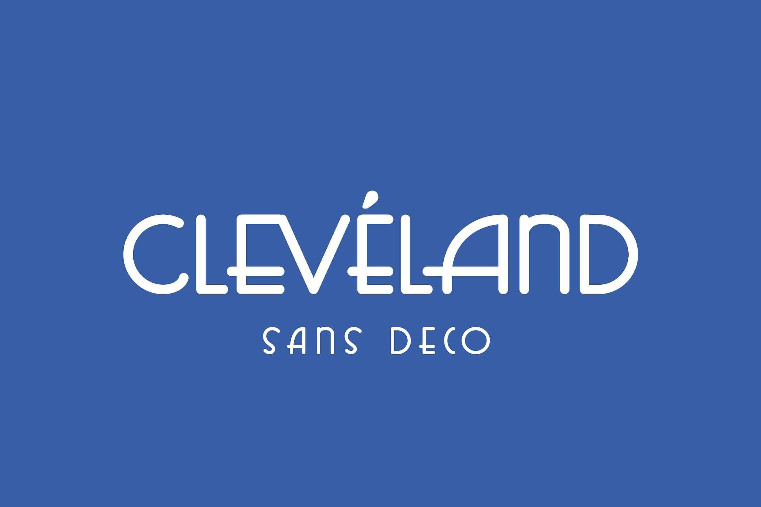 Cleveland Sans Deco шрифт скачать бесплатно