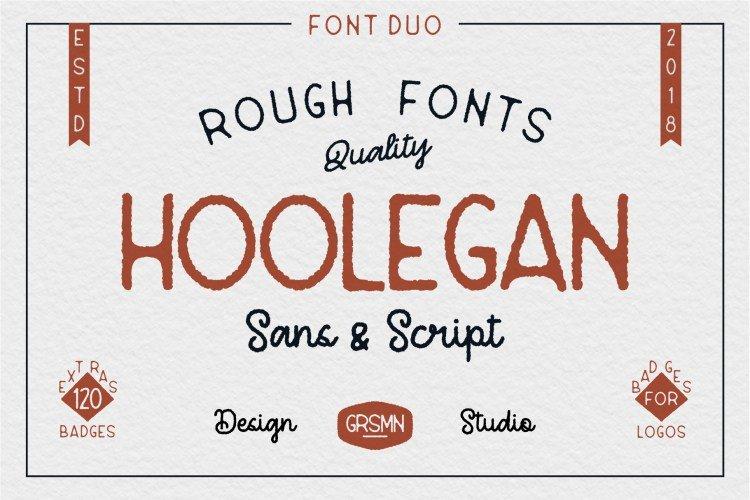 Hoolegan шрифт скачать бесплатно