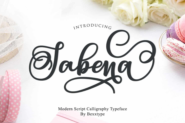 Sabena шрифт скачать бесплатно
