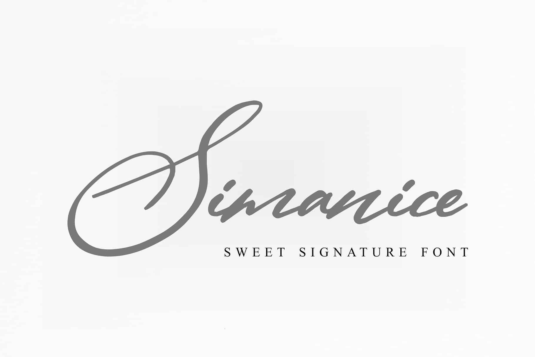Simanice шрифт скачать бесплатно