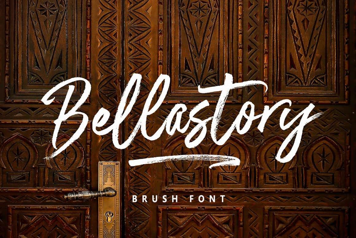 Bellastory шрифт скачать бесплатно