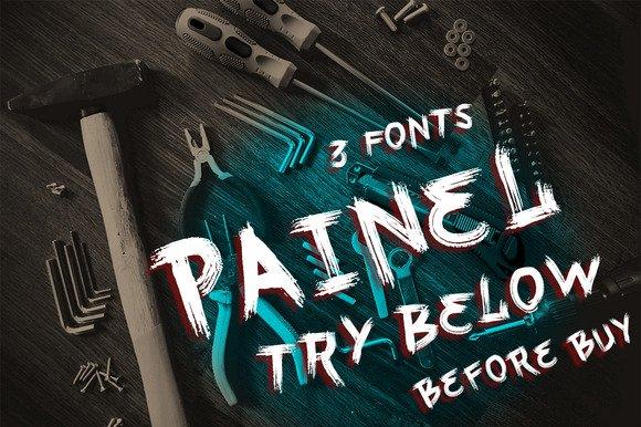 Painel шрифт скачать бесплатно