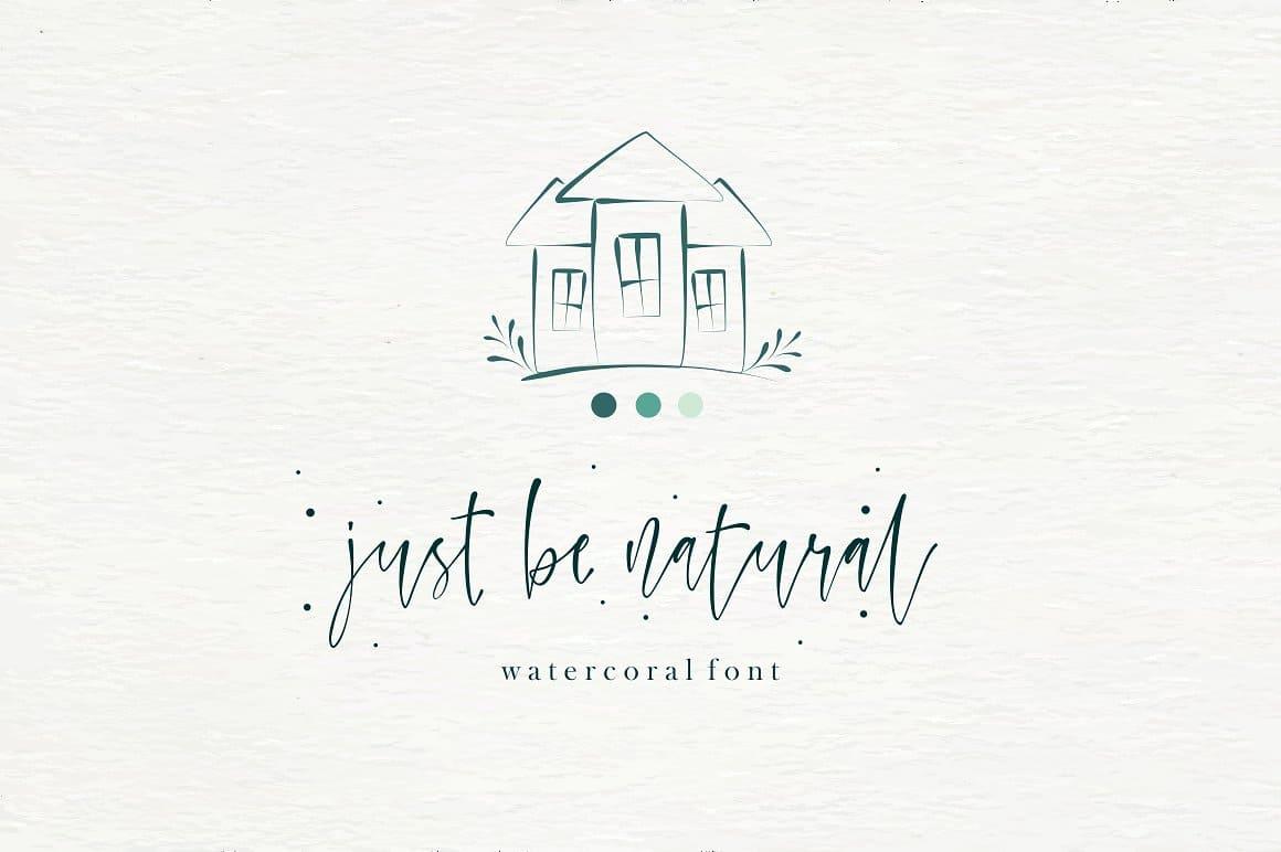 Watercoral шрифт скачать бесплатно