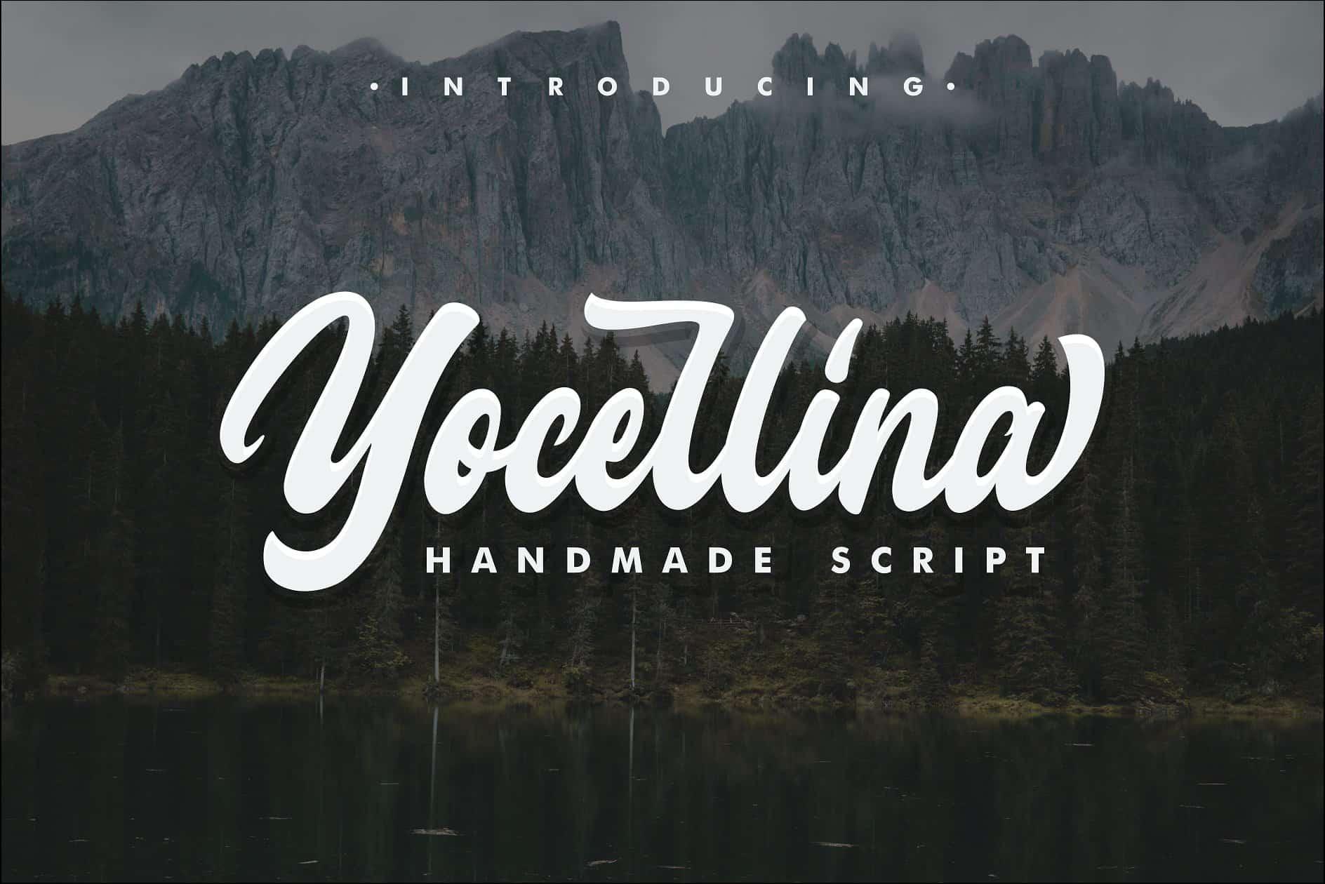 Yocellina шрифт скачать бесплатно