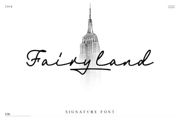 Fairyland шрифт скачать бесплатно