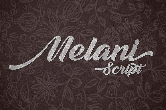 Melani шрифт скачать бесплатно