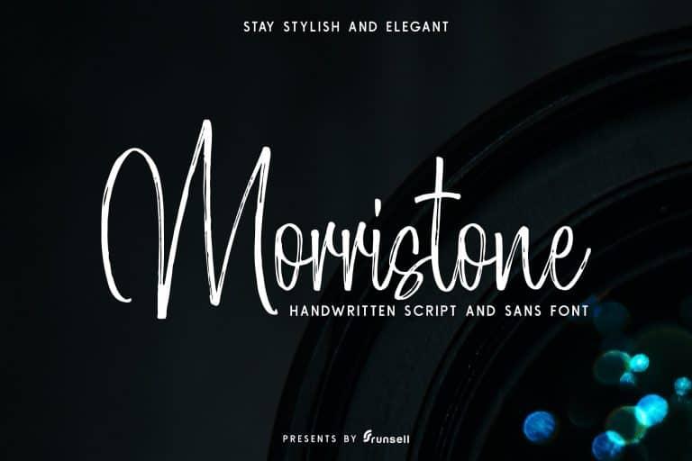 Morristone шрифт скачать бесплатно