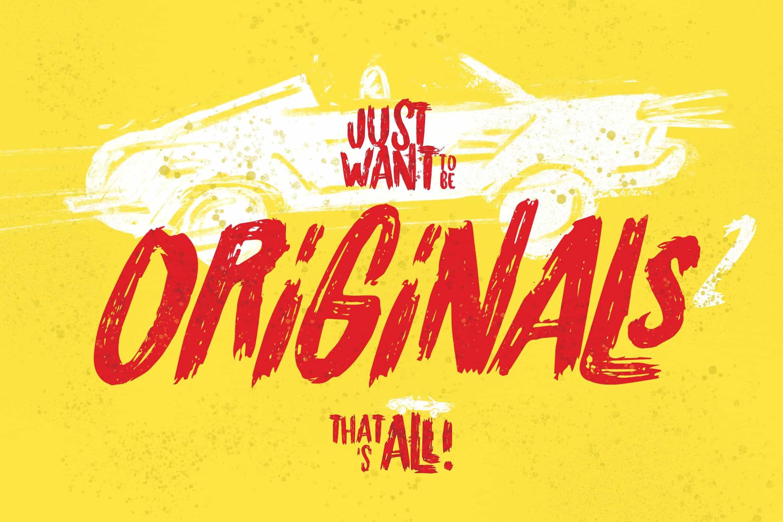 Originals шрифт скачать бесплатно