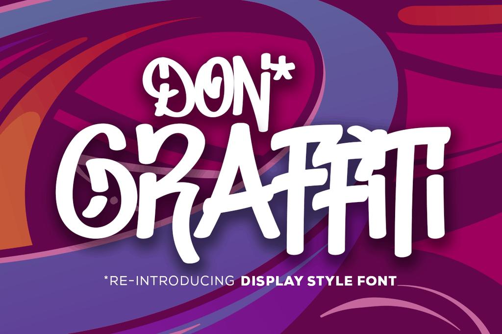 Don Graffiti шрифт скачать бесплатно