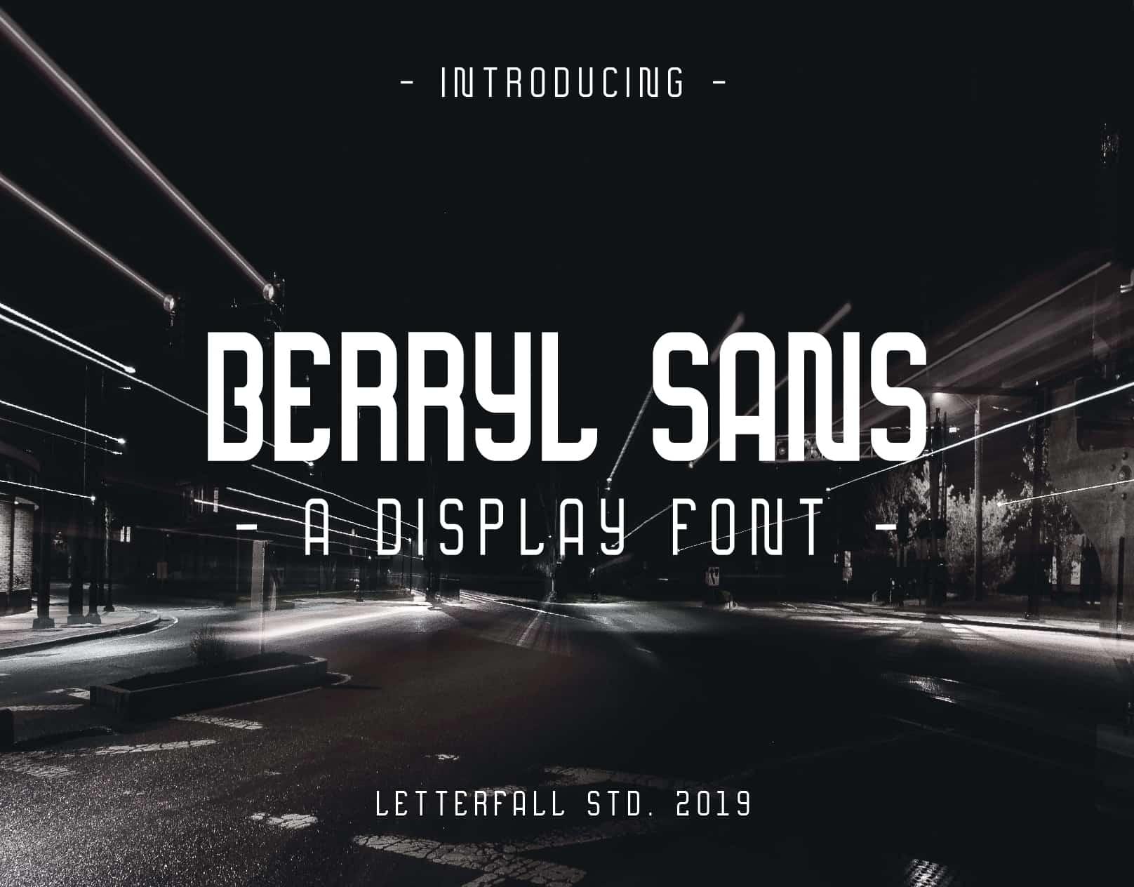 Berryl шрифт скачать бесплатно