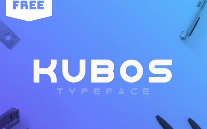 Kubos шрифт скачать бесплатно