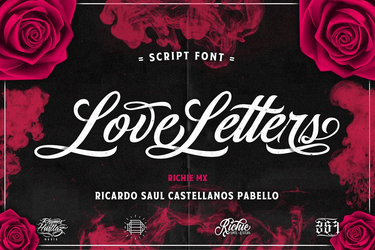 Love Letters шрифт скачать бесплатно