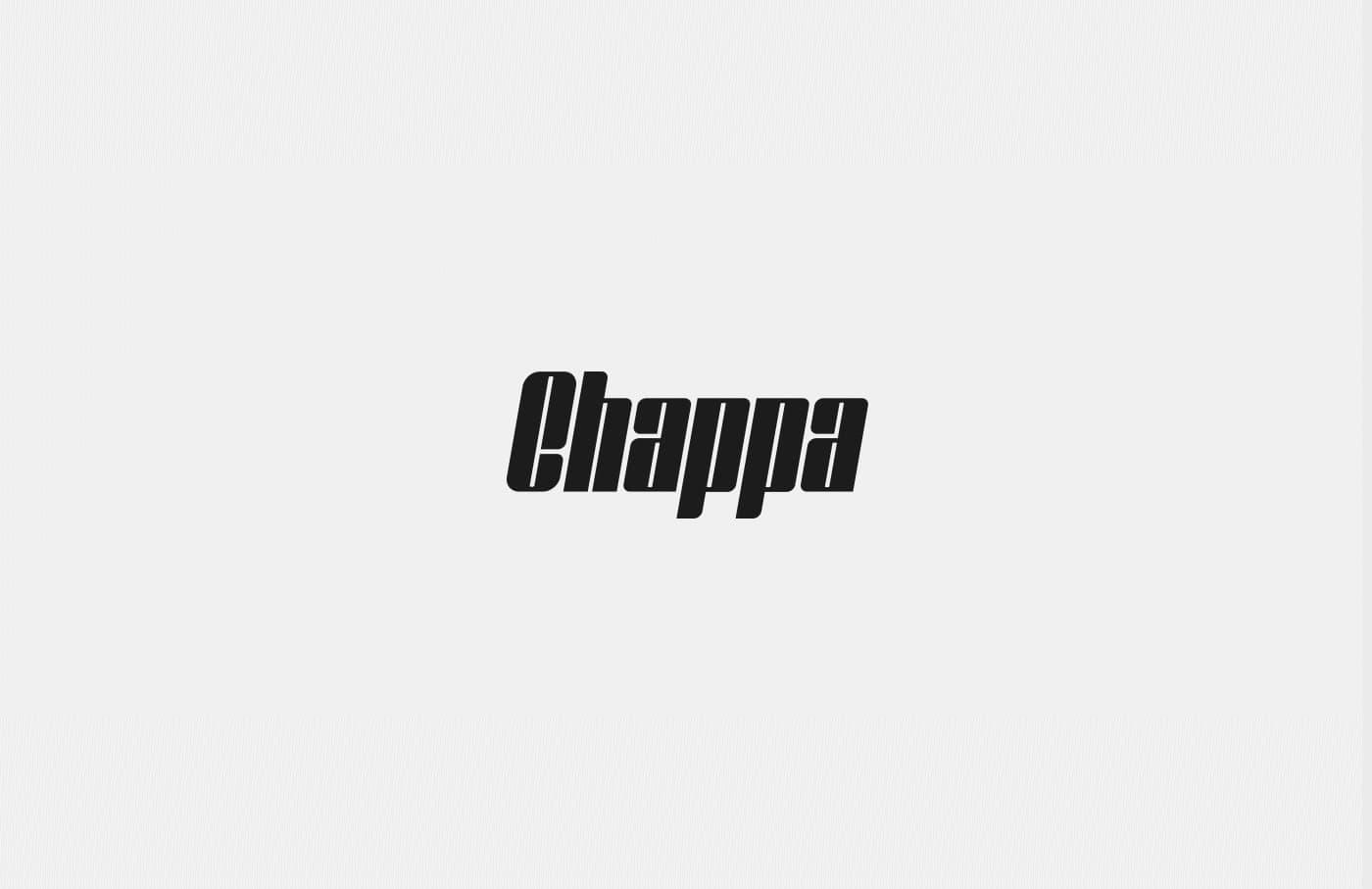 Chappa шрифт скачать бесплатно