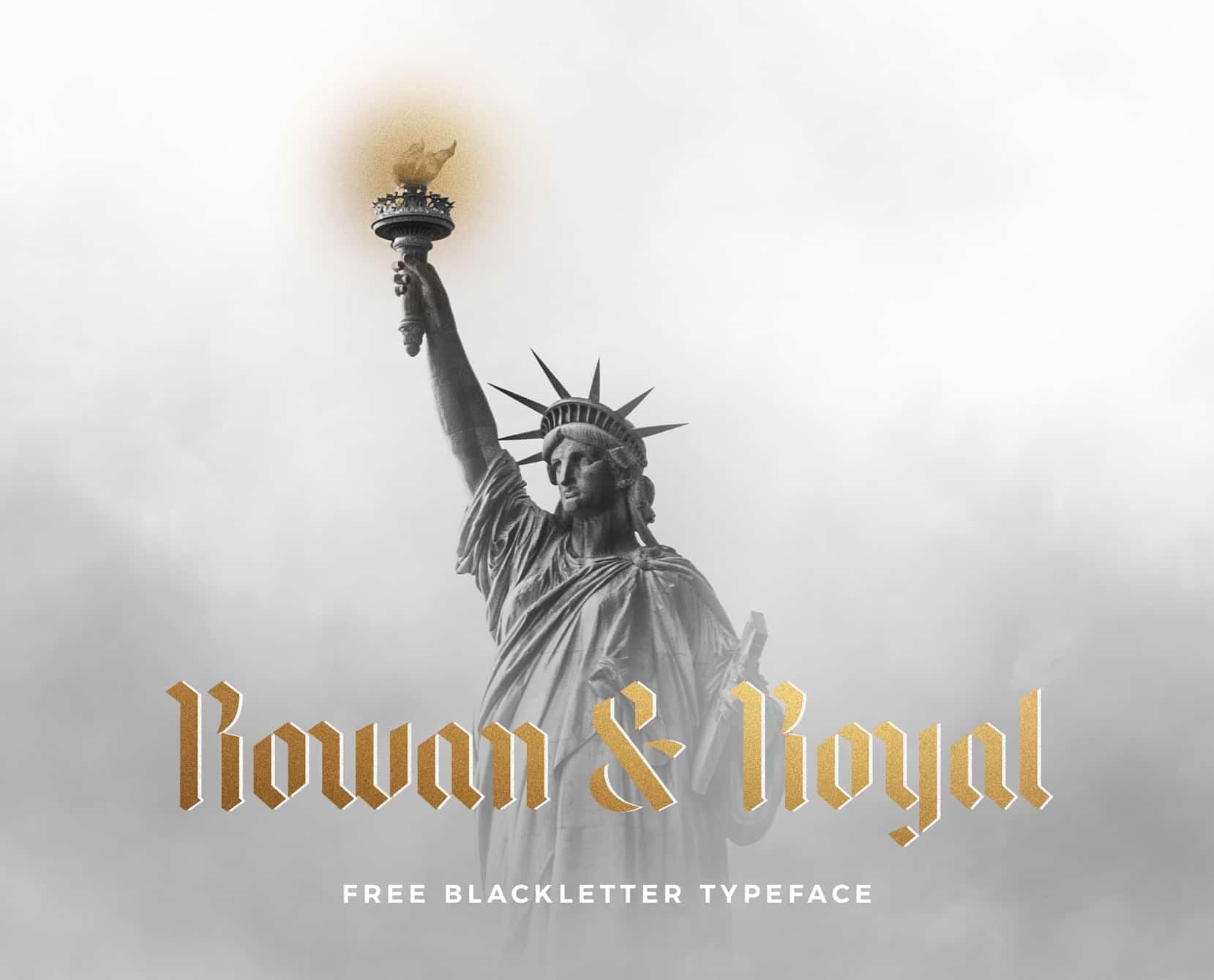 Rowan & Royal шрифт скачать бесплатно