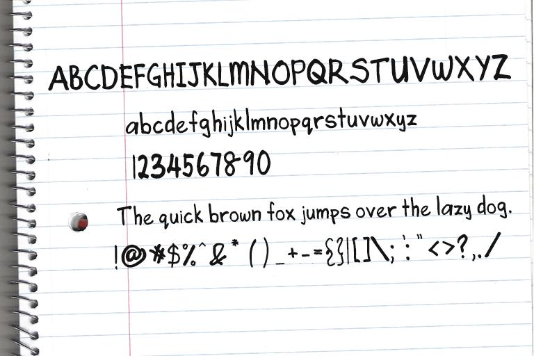 Angela's Handwriting шрифт скачать бесплатно