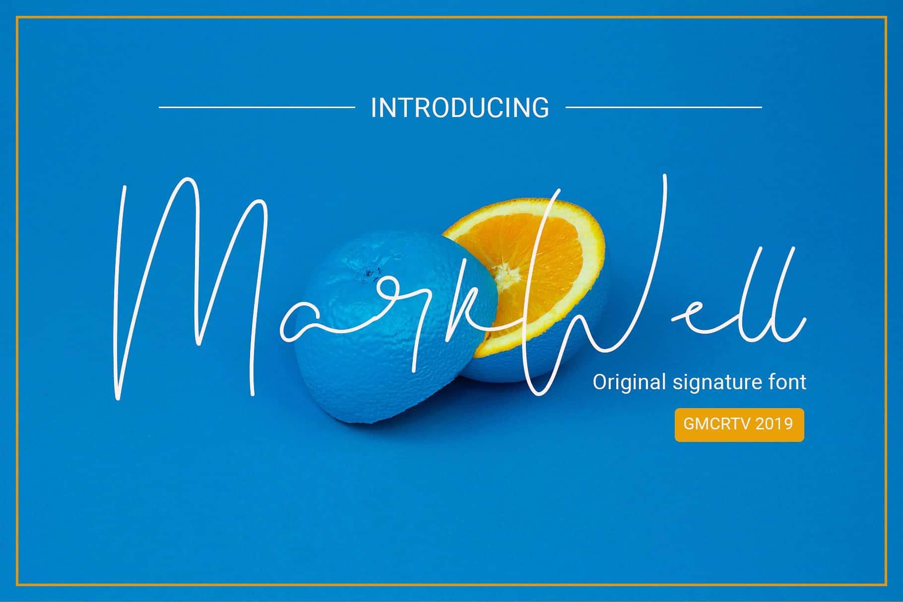 Markwell шрифт скачать бесплатно