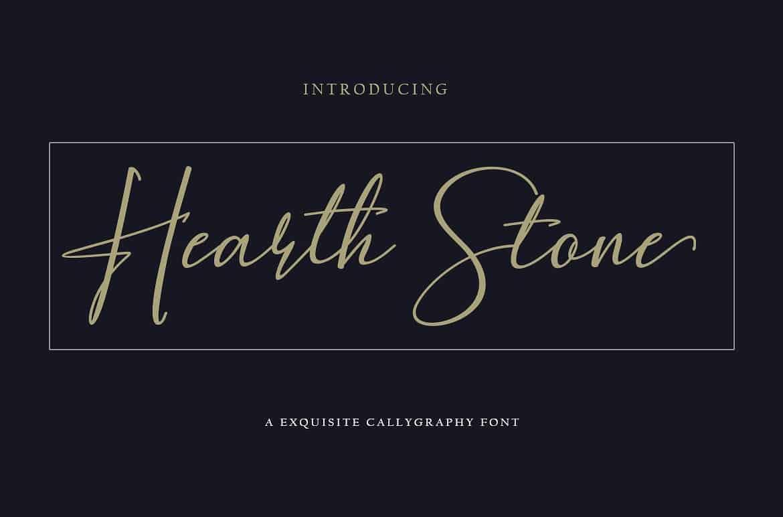 Hearth Stone шрифт скачать бесплатно