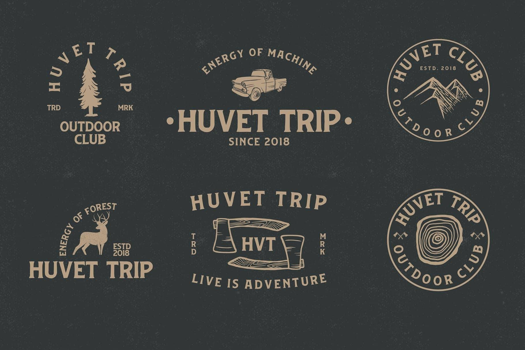 Huvet шрифт скачать бесплатно