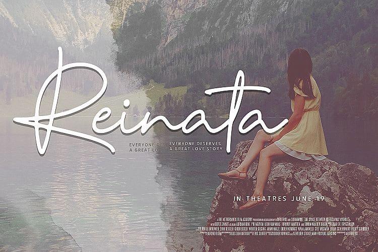 Reinata шрифт скачать бесплатно