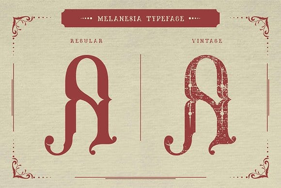 Melanesia шрифт скачать бесплатно