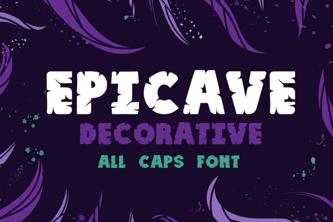Epicave Bold шрифт скачать бесплатно
