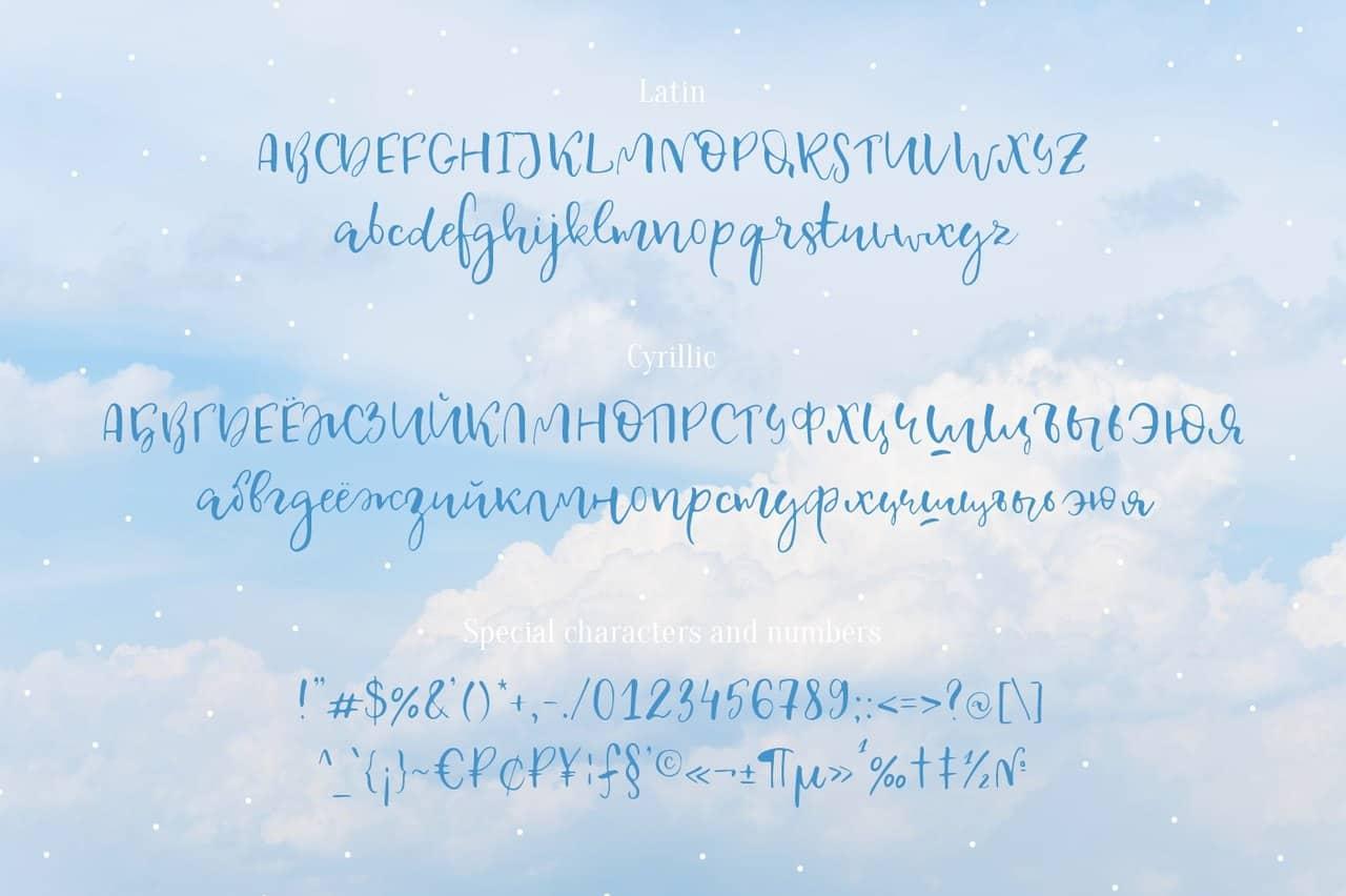 Celestina шрифт скачать бесплатно