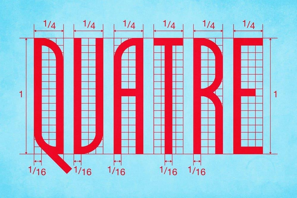 Quatre Quarts шрифт скачать бесплатно