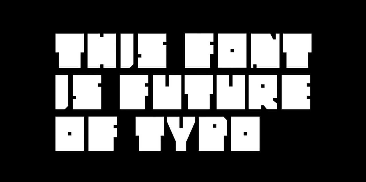 Raster шрифт скачать бесплатно