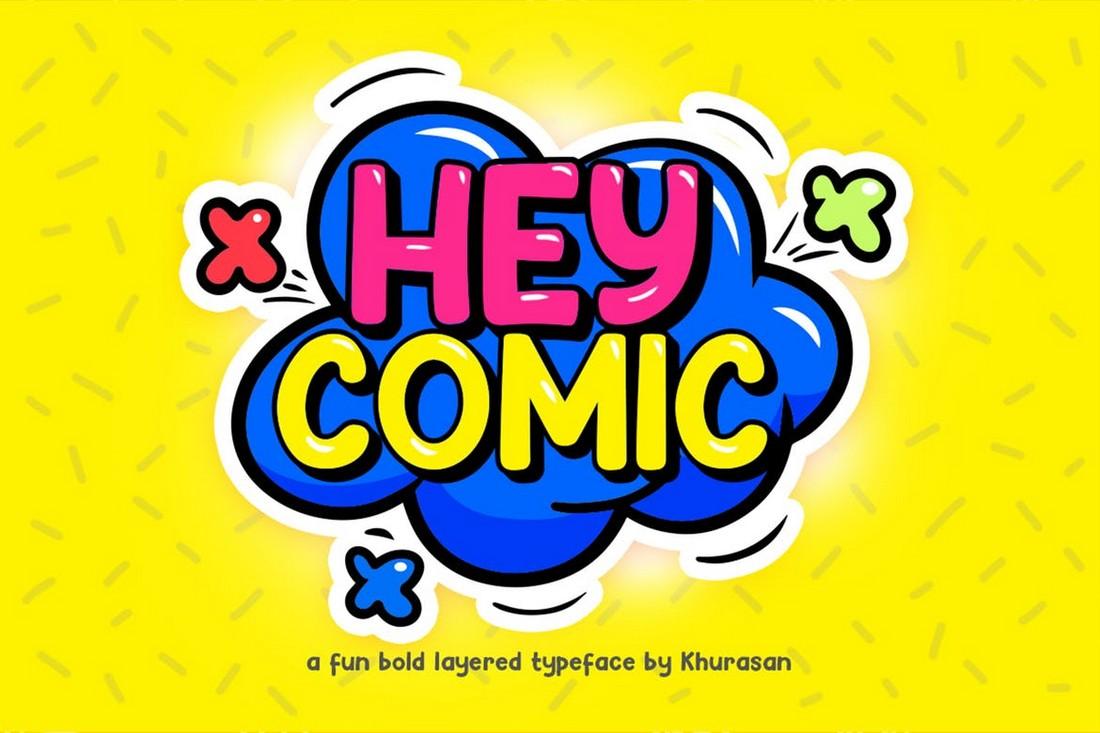 ТОП лучших шрифтов для комиксов   Часть 2 шрифт скачать бесплатно