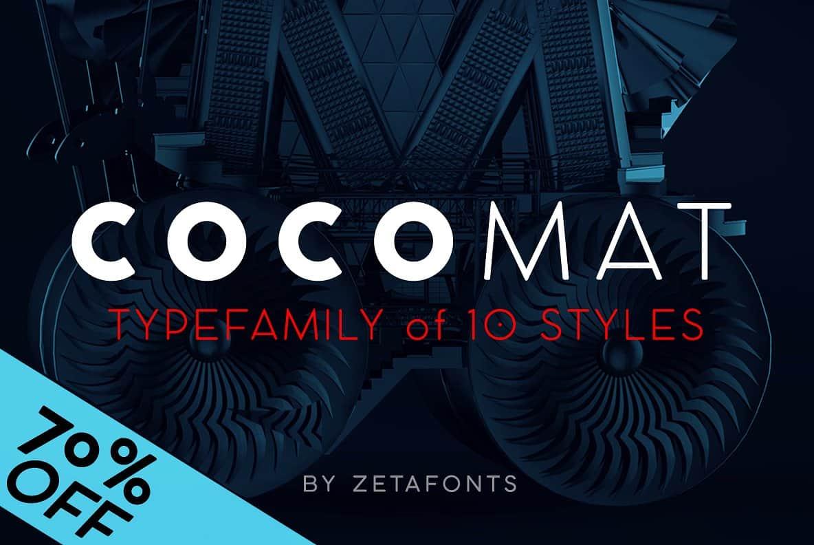 COCOMAT Full Family шрифт скачать бесплатно