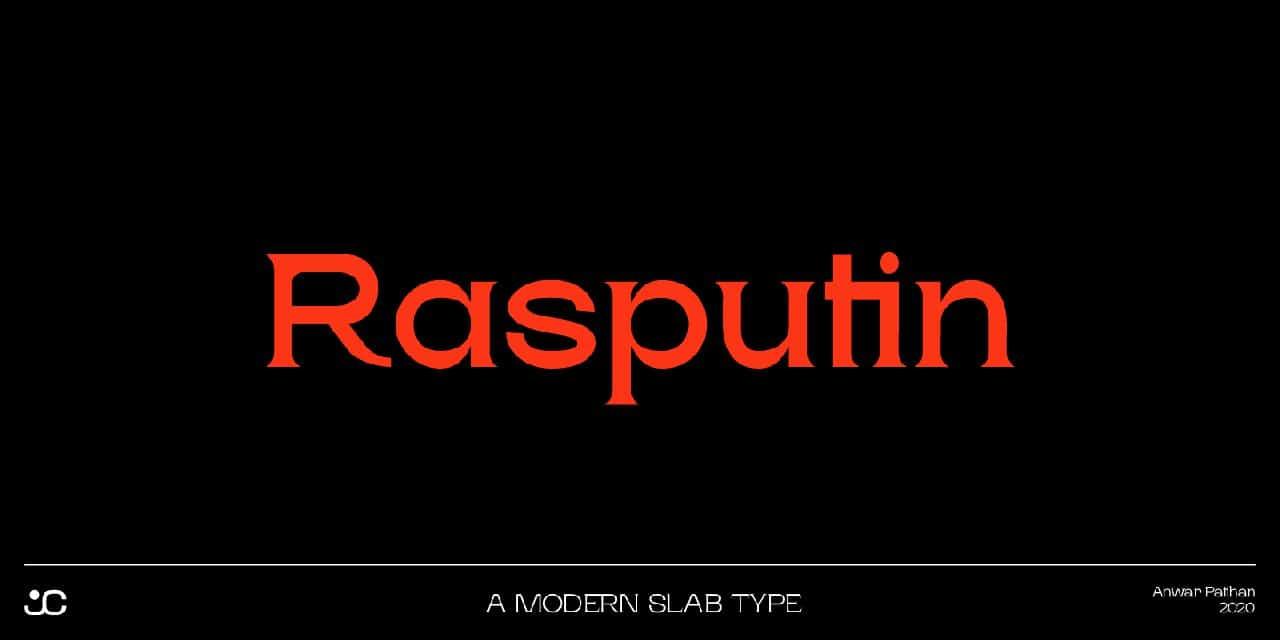 Rasputin шрифт скачать бесплатно