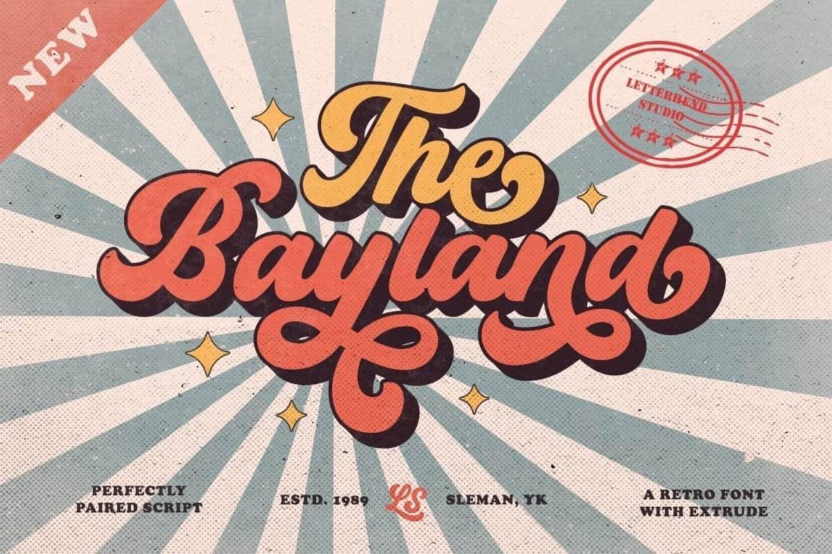 The Bayland шрифт скачать бесплатно