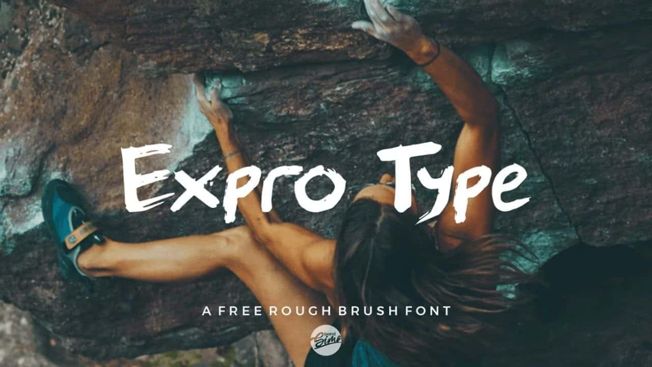 Expro шрифт скачать бесплатно