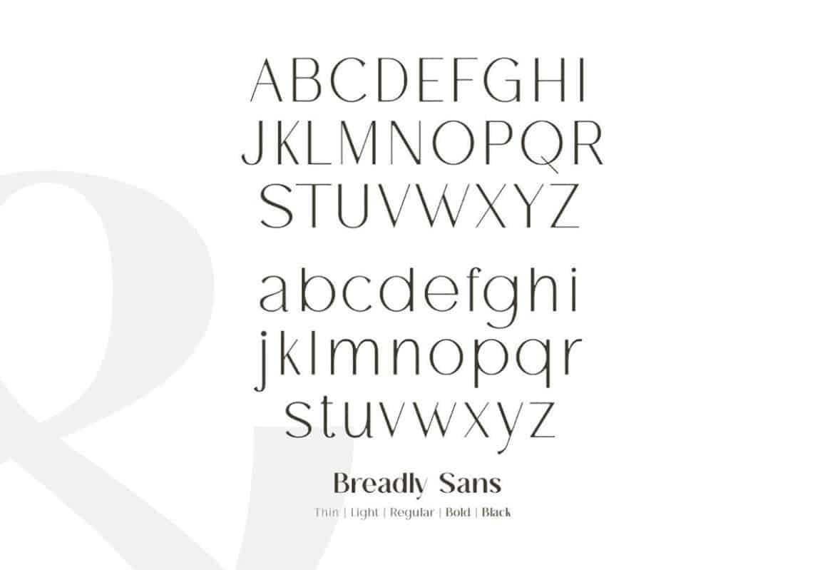 Breadley шрифт скачать бесплатно