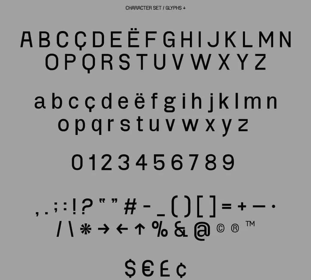Project Blackbird шрифт скачать бесплатно