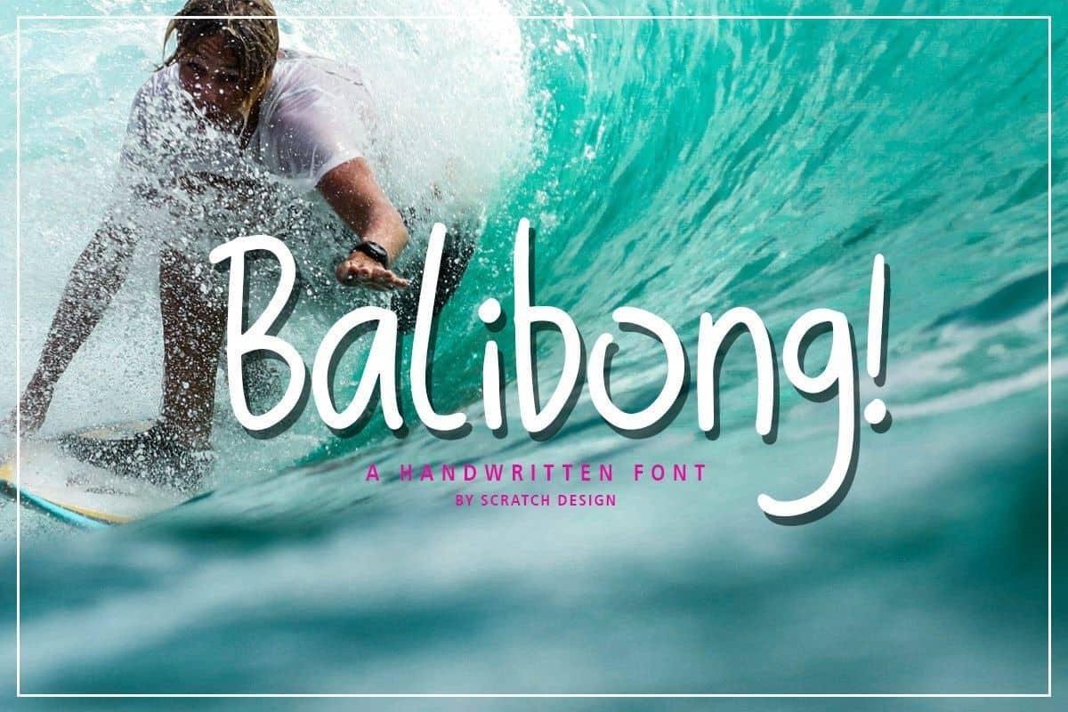 Balibong шрифт скачать бесплатно