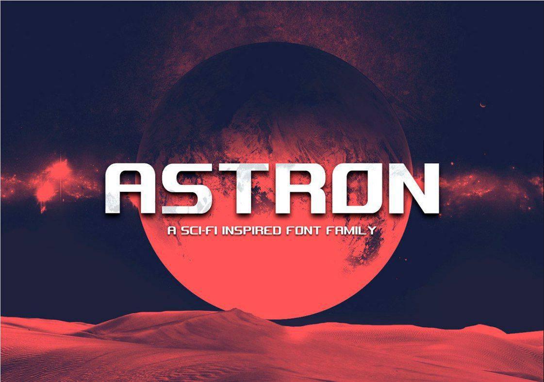 Astron шрифт скачать бесплатно