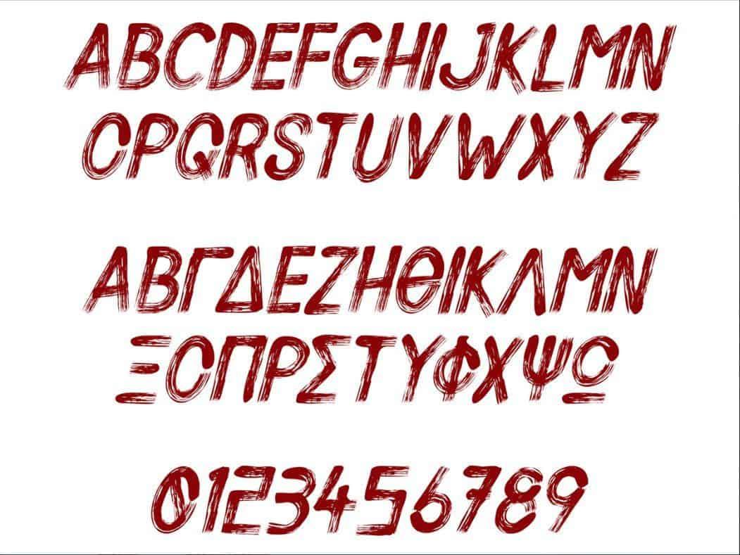 Silent Scream шрифт скачать бесплатно