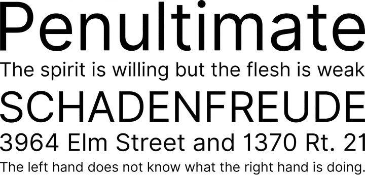 Inter UI шрифт скачать бесплатно