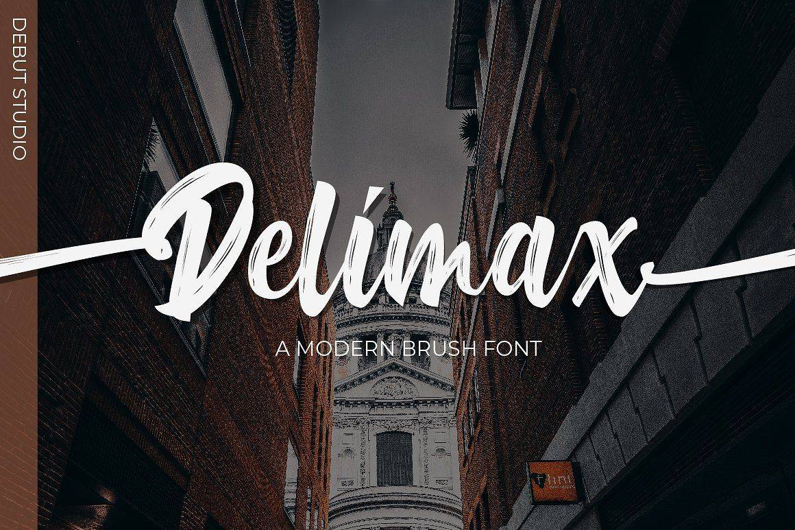 Delimax шрифт скачать бесплатно