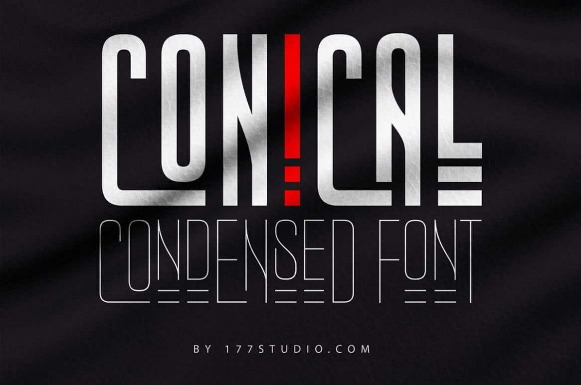 Conical шрифт скачать бесплатно
