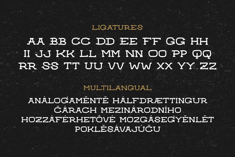 Retro Badger шрифт скачать бесплатно